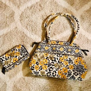 Never used Vera Bradley matching wallet and purse!